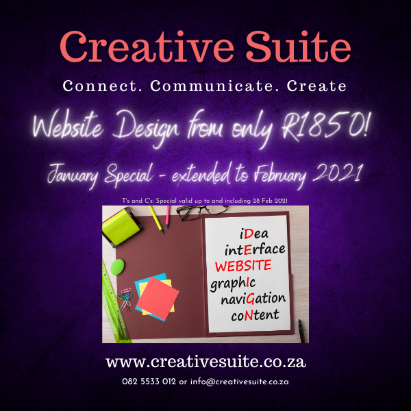 Website Design Special - Creative Suite